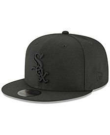Chicago White Sox Blackout 59FIFTY FITTED Cap