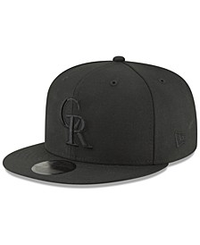 Colorado Rockies Blackout 59FIFTY FITTED Cap