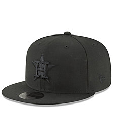 New Era Houston Astros Blackout 59FIFTY FITTED Cap
