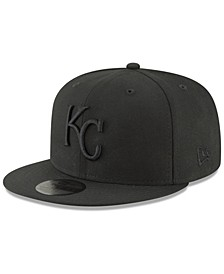 Kansas City Royals Blackout 59FIFTY FITTED Cap