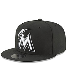 New Era Miami Marlins Blackout 59FIFTY FITTED Cap