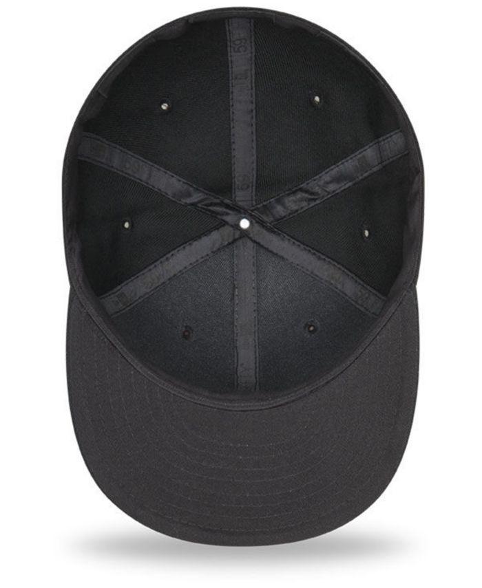 New Era New York Mets Blackout 59FIFTY FITTED Cap & Reviews - Sports Fan Shop By Lids - Men - Macy's