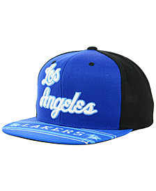 Mitchell & Ness Los Angeles Lakers Winning Team Snapback Cap