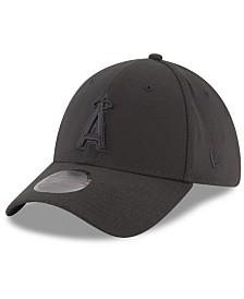 New Era Los Angeles Angels Blackout 39THIRTY Cap