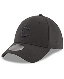 New Era Chicago Cubs Blackout 39THIRTY Cap