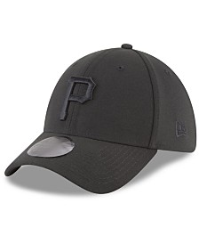 New Era Pittsburgh Pirates Blackout 39THIRTY Cap