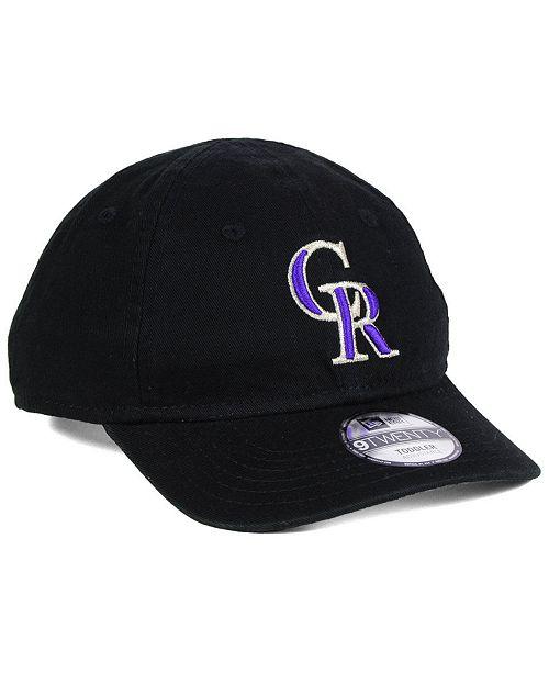 free shipping 721f7 d3fc9 ... 9TWENTY Cap  New Era Boys  Colorado Rockies Jr On-Field Replica 9TWENTY  ...