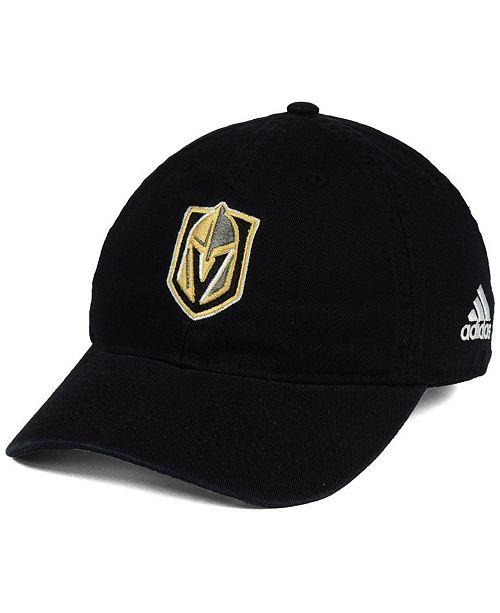 adidas Vegas Golden Knights Slouch Adjustable Cap