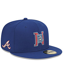 New Era Atlanta Braves League Front 59FIFTY FITTED Cap
