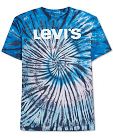 Levi's® Men's Hutton Tie-Dyed Logo-Print T-Shirt