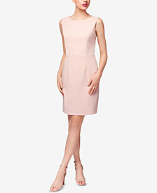 Betsey Johnson Cross-Back Scuba Crepe Dress