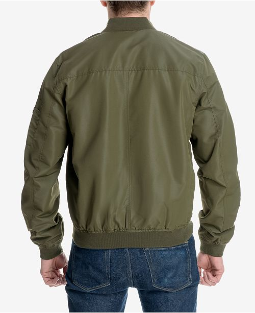 c3c1d8612 Michael Kors Men's Big and Tall Bomber Jacket, Created for Macy's ...