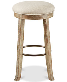 Oaktown Backless Bar Stool, Quick Ship