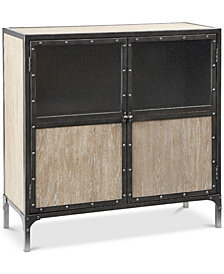 Cooper 2-Door Accent Cabinet, Quick Ship