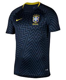 Nike Men's Dry Brasil Squad Soccer Jersey T-Shirt