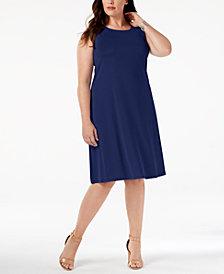 Kasper Plus Size Swing Dress