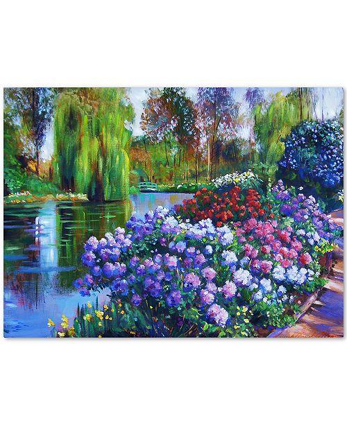 "Trademark Global David Lloyd Glover 'Promise of Spring' Canvas Art - 32"" x 24"""