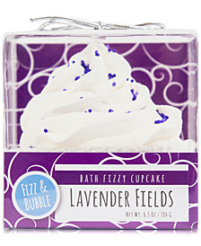 Fizz & Bubble Lavender Fields Bath Fizzy Cupcake
