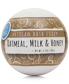 Fizz & Bubble Oatmeal, Milk & Honey Artisan Bath Fizzy