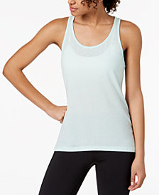 Ideology Mesh-Racerback Tank Top, Created for Macy's