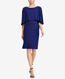 Lauren Ralph Lauren Slim-Fit Overlay Dress