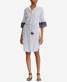 Lauren Ralph Lauren Petite Embroidered Dress