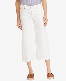 Lauren Ralph Lauren Wide-Leg Jeans