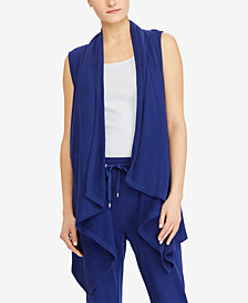 Lauren Ralph Lauren French Terry Cotton Cardigan