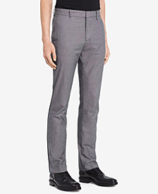 Calvin Klein Men's Slim-Fit Birdseye Pants