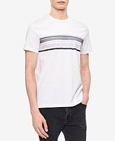 Calvin Klein Men's Striped Cotton T-Shirt