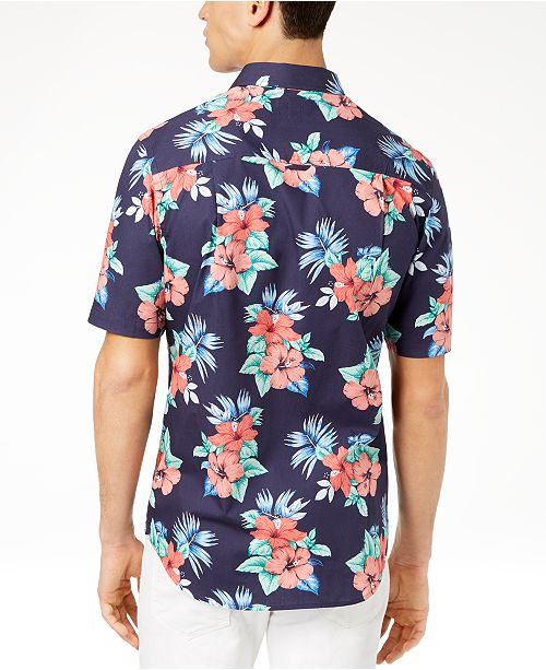 14592e9551a Club Room Men s Island Floral-Print Shirt