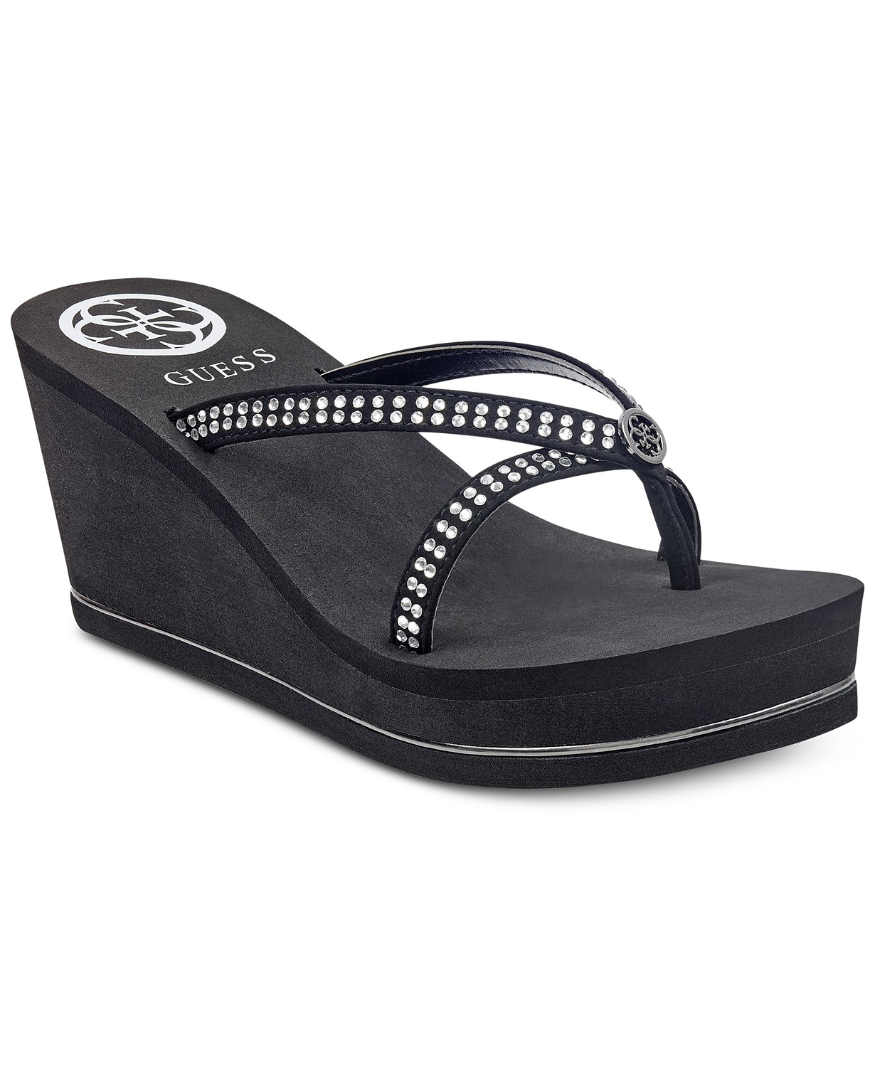 GUESS Women's Selya Platform Wedge Sandals