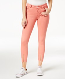M1858 Kristen Vented Ankle Skinny Jeans, Created for Macy's