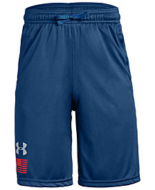 Under Armour Big Boys Flag-Graphic Shorts