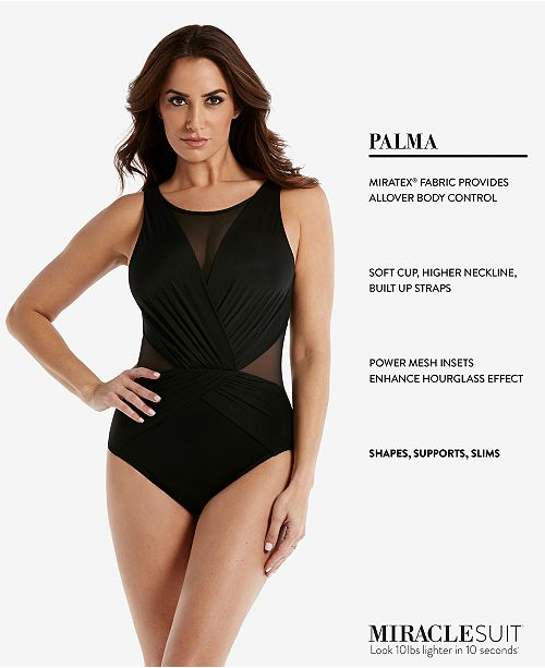 5a2d41b3ff77f ... Miraclesuit Illusionists Palma Mesh Allover Slimming One-Piece Swimsuit  ...