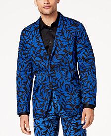 I.N.C. Men's Slim-Fit Leaf-Print Blazer, Created for Macy's