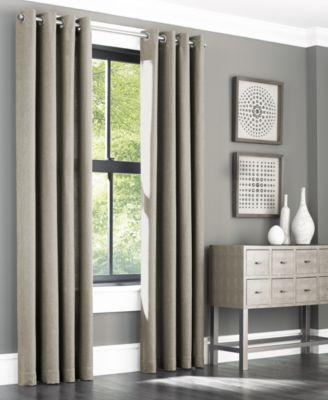 """Spencer 50"""" x 95"""" Grommet Window Panel Pair"""
