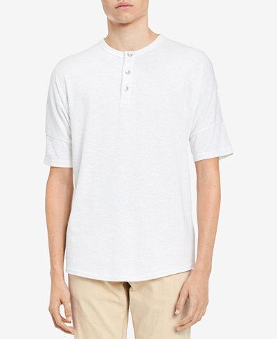Calvin Klein Jeans Men's Oversized Henley