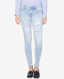 Silver Jeans Co. Tuesday Ripped Super-Skinny Jeans