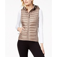 Deals on 32 Degrees Hooded Packable Puffer Vest
