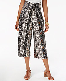 John Paul Richard Petite Cropped Lace-Up Pants