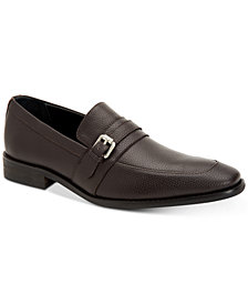 Calvin Klein Men's Reyes Tumbled Leather Loafers