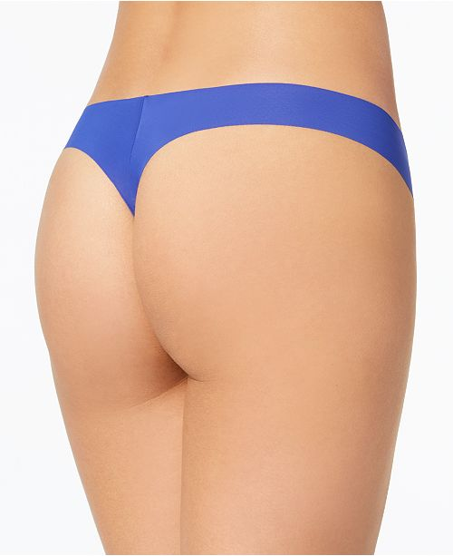 68ab9bda21fe12 Calvin Klein Invisible Thong 5-Pack QD3556 & Reviews - Bras, Panties ...