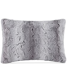 "Zuri Faux-Fur 14"" x 20"" Oblong Decorative Pillow"