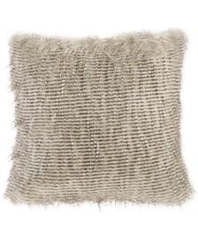 "Madison Park Edina 20"" Square Faux-Fur Decorative Pillow"