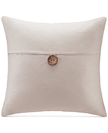 "Madison Park 20"" Square Button Decorative Pillow"