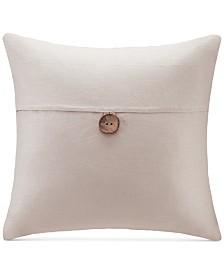"""Madison Park 20"""" Square Button Decorative Pillow"""