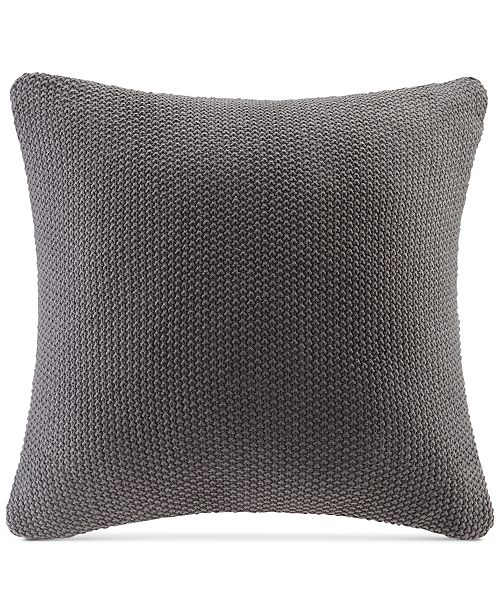 "INK+IVY Bree Chunky-Knit 20"" Square Pillow Cover"