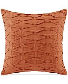 "Natori Nara 18"" Square Pintucked Decorative Pillow"