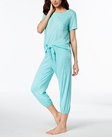 Jenni by Jennifer Moore Pocket Pajama Top & Jogger Pajama Pants, Created for Macy's